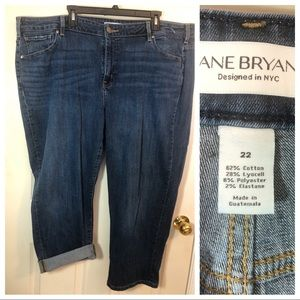 Lane Bryant Denim Girlfriend Crop